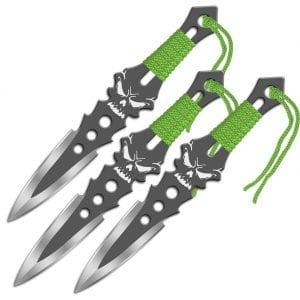 skull throwing knives