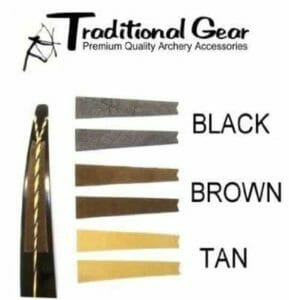 Recurve Bow Bowstring Groove Silencers