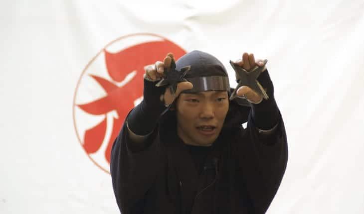 Ninja with Stars