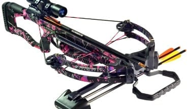 pink crossbow