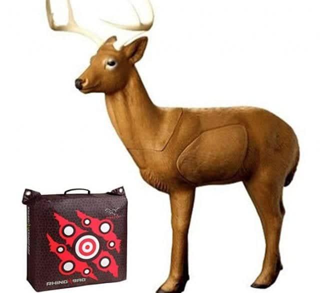 "Rinehart Targets Woodland Buck and Rhino Bag 18"""