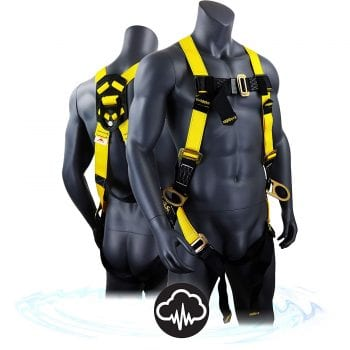 Kwiksafety Fall Protection Safety Full Body Harness