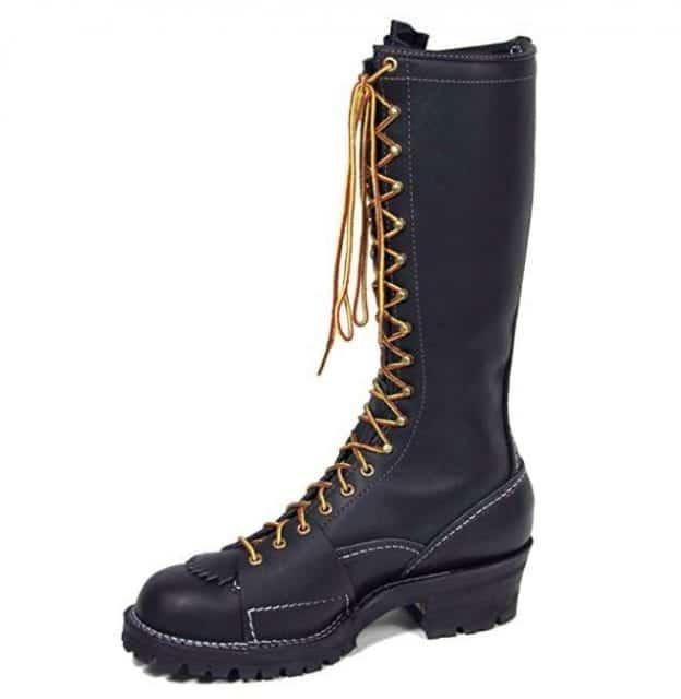 """Wesco Highliner 16"""" Work Boot Black"""