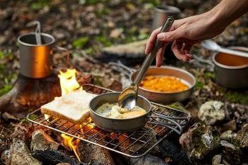 Titanium Camping Cookware Set 3-Piece